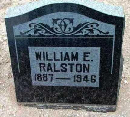 RALSTON, WILLIAM EZRA - Yavapai County, Arizona | WILLIAM EZRA RALSTON - Arizona Gravestone Photos