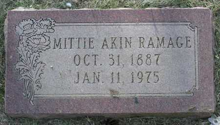 AKIN WILLEY, MITTIE BELL - Yavapai County, Arizona | MITTIE BELL AKIN WILLEY - Arizona Gravestone Photos