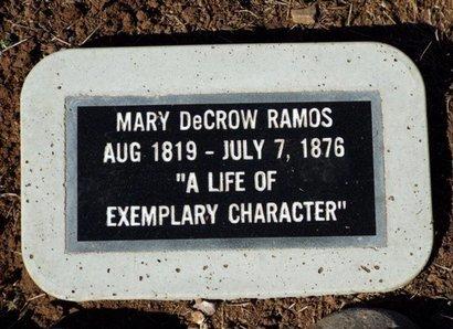 KUYKENDALL RAMOS, MARY - Yavapai County, Arizona   MARY KUYKENDALL RAMOS - Arizona Gravestone Photos