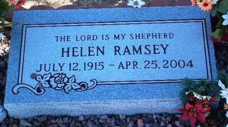 RAMSEY, HELEN - Yavapai County, Arizona   HELEN RAMSEY - Arizona Gravestone Photos