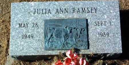 RAMSEY, JULIA ANN - Yavapai County, Arizona | JULIA ANN RAMSEY - Arizona Gravestone Photos