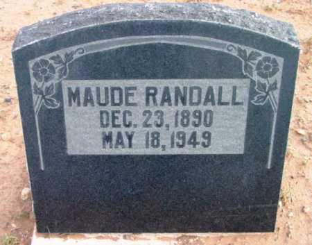 RUTHERFORD RANDALL, MAUDE BERTHA LINDA - Yavapai County, Arizona   MAUDE BERTHA LINDA RUTHERFORD RANDALL - Arizona Gravestone Photos