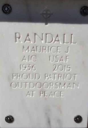 RANDALL, MAURICE JAMES - Yavapai County, Arizona   MAURICE JAMES RANDALL - Arizona Gravestone Photos