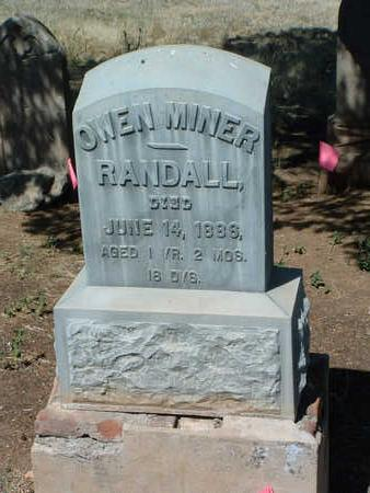 RANDALL, OWEN MINER - Yavapai County, Arizona | OWEN MINER RANDALL - Arizona Gravestone Photos
