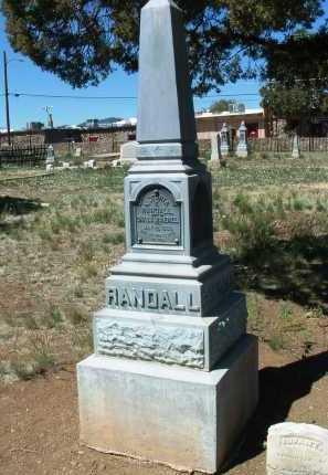 ZAFF RANDALL, VICTORIA FRANCES - Yavapai County, Arizona | VICTORIA FRANCES ZAFF RANDALL - Arizona Gravestone Photos