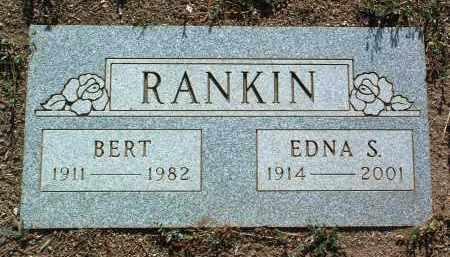 BROWN RANKIN, EDNA S. - Yavapai County, Arizona   EDNA S. BROWN RANKIN - Arizona Gravestone Photos