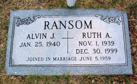 RANSOM, ALVIN J. - Yavapai County, Arizona | ALVIN J. RANSOM - Arizona Gravestone Photos