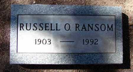 RANSOM, RUSSELL O. - Yavapai County, Arizona | RUSSELL O. RANSOM - Arizona Gravestone Photos