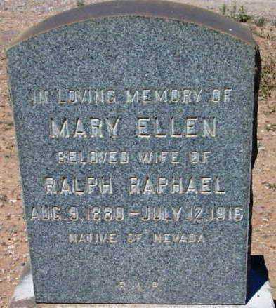 MCKEOUGH RAPHAEL, MARY ELLEN - Yavapai County, Arizona   MARY ELLEN MCKEOUGH RAPHAEL - Arizona Gravestone Photos