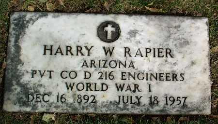 RAPIER, HARRY WHEELER - Yavapai County, Arizona | HARRY WHEELER RAPIER - Arizona Gravestone Photos
