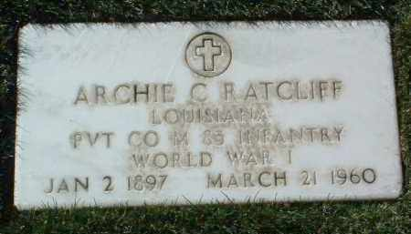 RATCLIFF, ARCHIE C. - Yavapai County, Arizona | ARCHIE C. RATCLIFF - Arizona Gravestone Photos