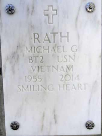 RATH, MICHAEL GEORGE - Yavapai County, Arizona | MICHAEL GEORGE RATH - Arizona Gravestone Photos