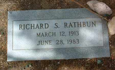 RATHBUN, RICHARD SAMUEL - Yavapai County, Arizona | RICHARD SAMUEL RATHBUN - Arizona Gravestone Photos