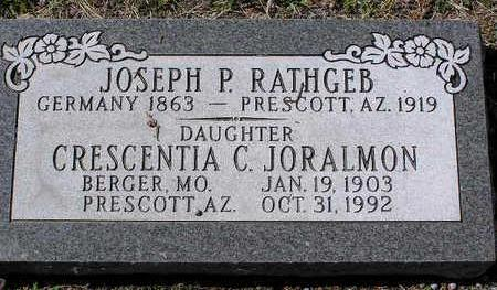 JORALMON, CRESCENTIA C. - Yavapai County, Arizona | CRESCENTIA C. JORALMON - Arizona Gravestone Photos