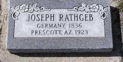 RATHGEB, JOSEPH - Yavapai County, Arizona | JOSEPH RATHGEB - Arizona Gravestone Photos