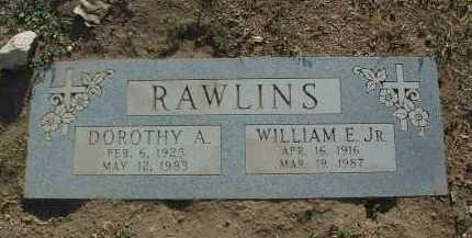 RAWLINS, DOROTHY ALMA - Yavapai County, Arizona | DOROTHY ALMA RAWLINS - Arizona Gravestone Photos