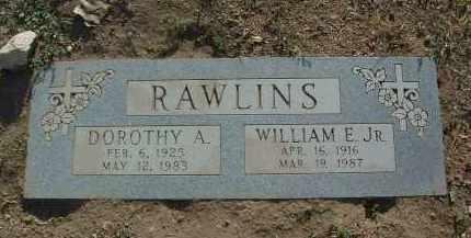 RAWLINS, WILLIAM EARL, JR. - Yavapai County, Arizona | WILLIAM EARL, JR. RAWLINS - Arizona Gravestone Photos