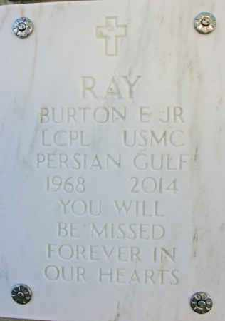 RAY, BURTON E., JR. - Yavapai County, Arizona | BURTON E., JR. RAY - Arizona Gravestone Photos