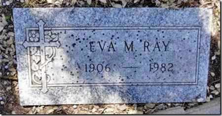 RAY, EVA M. - Yavapai County, Arizona | EVA M. RAY - Arizona Gravestone Photos