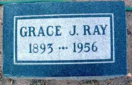 RAY, GRACE J. - Yavapai County, Arizona   GRACE J. RAY - Arizona Gravestone Photos