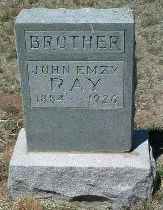 RAY, JOHN EMZY - Yavapai County, Arizona   JOHN EMZY RAY - Arizona Gravestone Photos
