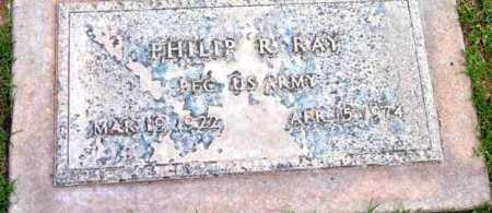 RAY, PHILIP RALPH - Yavapai County, Arizona | PHILIP RALPH RAY - Arizona Gravestone Photos