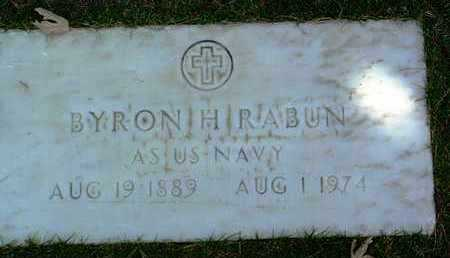 RABUN, BYRON H. - Yavapai County, Arizona | BYRON H. RABUN - Arizona Gravestone Photos