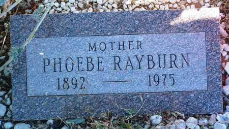 RAYBURN, PHOEBE - Yavapai County, Arizona | PHOEBE RAYBURN - Arizona Gravestone Photos