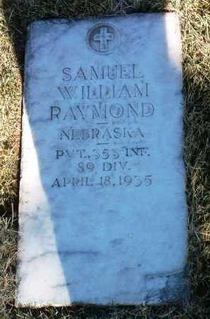 RAYMOND, SAMUEL WILLIAM - Yavapai County, Arizona   SAMUEL WILLIAM RAYMOND - Arizona Gravestone Photos