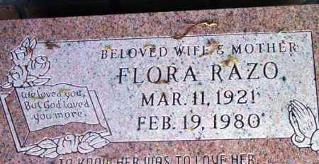 RAZO, FLORA - Yavapai County, Arizona | FLORA RAZO - Arizona Gravestone Photos
