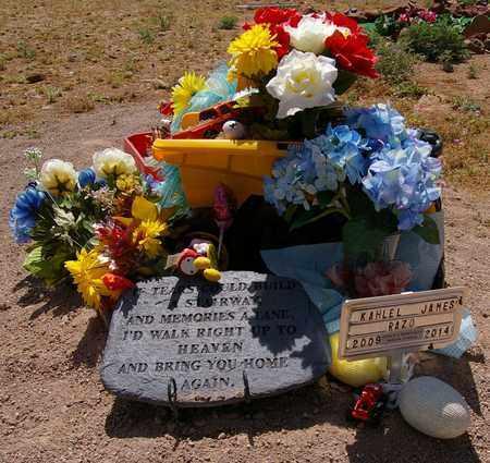 RAZO, KAHLEL JAMES - Yavapai County, Arizona | KAHLEL JAMES RAZO - Arizona Gravestone Photos
