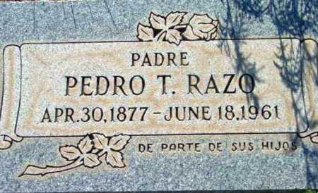RAZO, PEDRO T. - Yavapai County, Arizona   PEDRO T. RAZO - Arizona Gravestone Photos