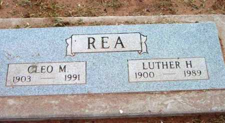 REA, LUTHER HOMER - Yavapai County, Arizona | LUTHER HOMER REA - Arizona Gravestone Photos