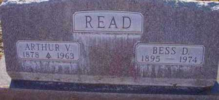 READ, BESS D. - Yavapai County, Arizona | BESS D. READ - Arizona Gravestone Photos