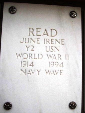 READ, IRENE JUNE - Yavapai County, Arizona   IRENE JUNE READ - Arizona Gravestone Photos