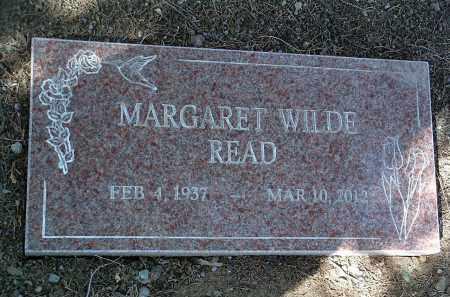 WILDE READ, MARGARET T. - Yavapai County, Arizona | MARGARET T. WILDE READ - Arizona Gravestone Photos