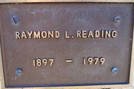 READING, RAYMOND LYLE - Yavapai County, Arizona | RAYMOND LYLE READING - Arizona Gravestone Photos