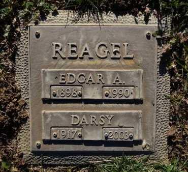 REAGEL, EDGAR ALLEN - Yavapai County, Arizona   EDGAR ALLEN REAGEL - Arizona Gravestone Photos