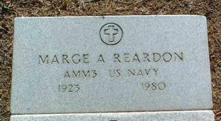 REARDON, MARGARET ANN (MARGE) - Yavapai County, Arizona | MARGARET ANN (MARGE) REARDON - Arizona Gravestone Photos
