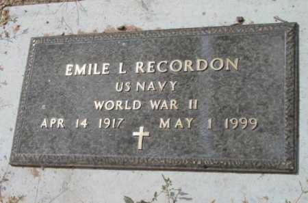 RECORDON, EMILE LAFLEUR - Yavapai County, Arizona | EMILE LAFLEUR RECORDON - Arizona Gravestone Photos