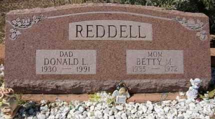 REDDELL, DONALD LEE - Yavapai County, Arizona | DONALD LEE REDDELL - Arizona Gravestone Photos