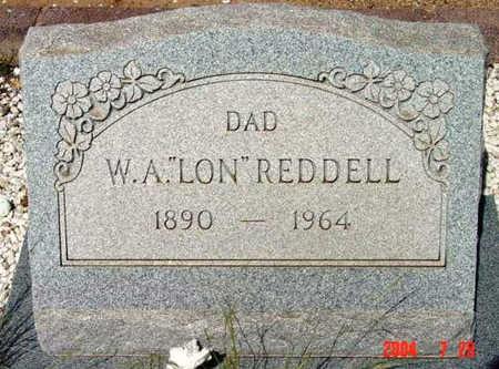 REDDELL, WILLIAM ALONZO (W.A.)  (LON) - Yavapai County, Arizona | WILLIAM ALONZO (W.A.)  (LON) REDDELL - Arizona Gravestone Photos