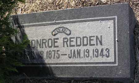 REDDEN, MONROE - Yavapai County, Arizona   MONROE REDDEN - Arizona Gravestone Photos
