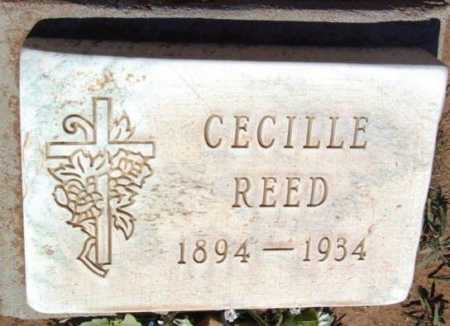 TONEY REED, CECILLE EMERLY - Yavapai County, Arizona | CECILLE EMERLY TONEY REED - Arizona Gravestone Photos