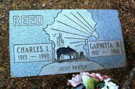 REED, CHARLES L. - Yavapai County, Arizona   CHARLES L. REED - Arizona Gravestone Photos