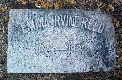 IRVINE REED, EMMA - Yavapai County, Arizona | EMMA IRVINE REED - Arizona Gravestone Photos