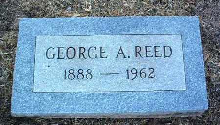 REED, GEORGE A. - Yavapai County, Arizona | GEORGE A. REED - Arizona Gravestone Photos