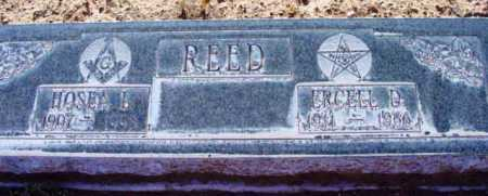 DEARING REED, ERCELL D. - Yavapai County, Arizona | ERCELL D. DEARING REED - Arizona Gravestone Photos