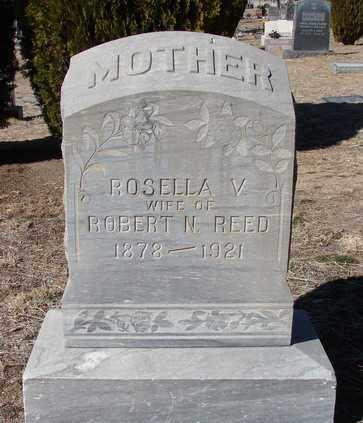 VIOLET REED, ROSELLA V. - Yavapai County, Arizona | ROSELLA V. VIOLET REED - Arizona Gravestone Photos