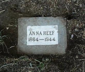 REEF, ANNA - Yavapai County, Arizona | ANNA REEF - Arizona Gravestone Photos